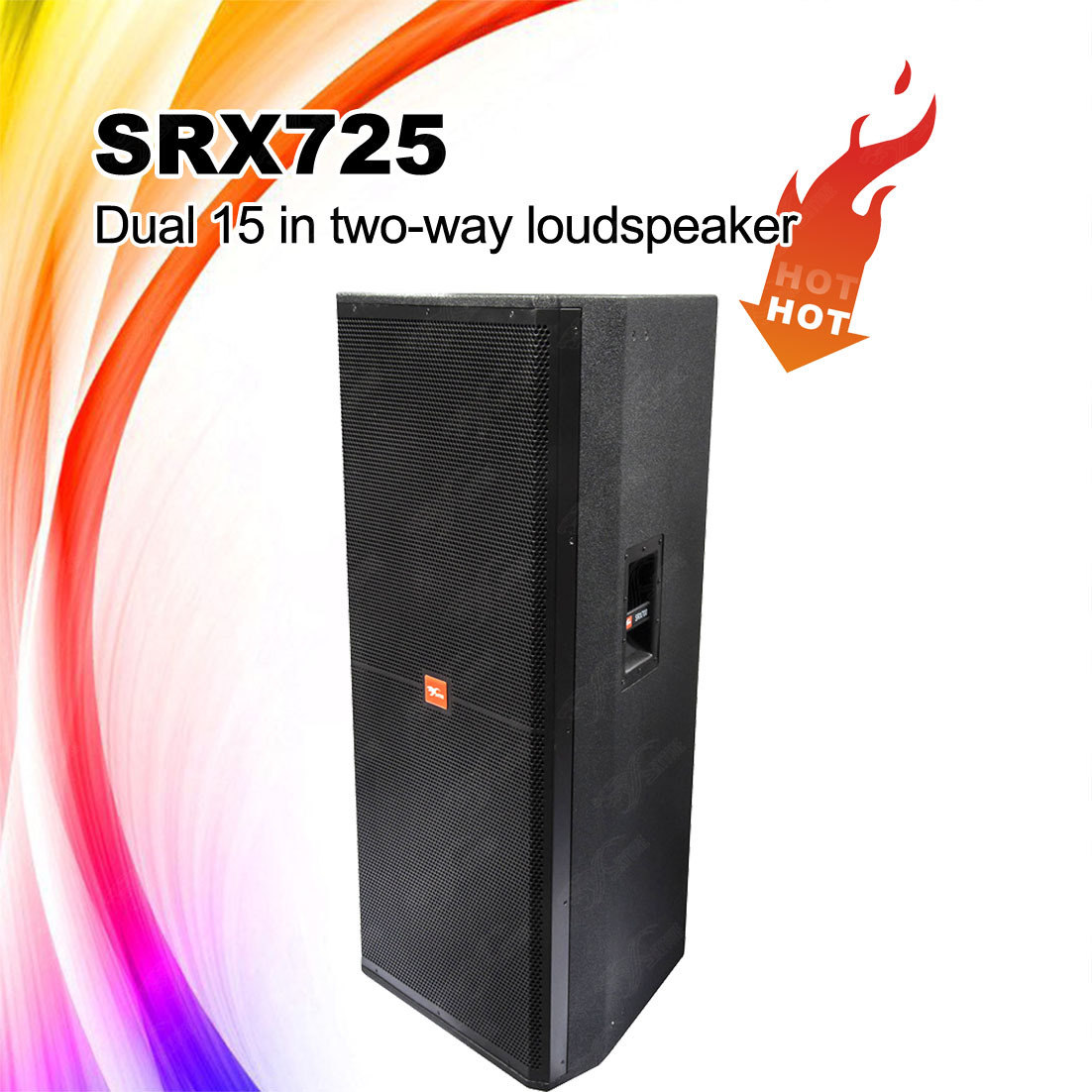"Srx725 Double 15 Inch (15"") PA Concert Speaker Box"