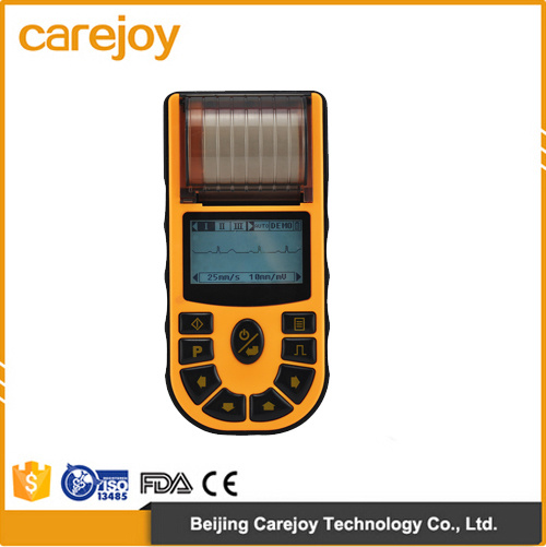 Factory Price Digital 1-Channel Handheld Electrocardiograph ECG (EKG-80A) -Fanny