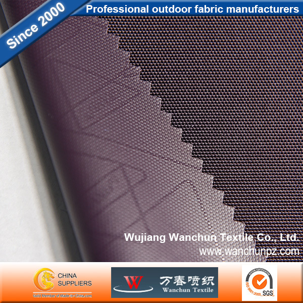 Polyester 1000d Double Yarn FDY Oxford with PVC