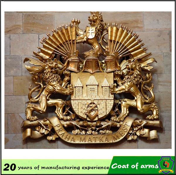 Royal Coat of Arms/ UK Metal Royal 3D Emblem