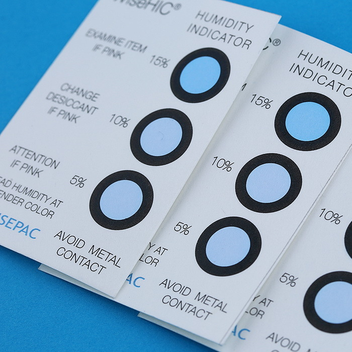 5%-60% Cobalt Chloride (HIC) Humidity Indicator Card (WiseHIC)