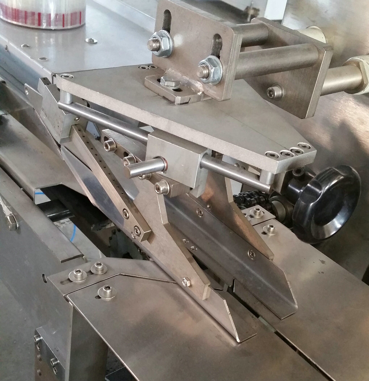 Wafer Biscuit Flow Wrapper Packing Machine