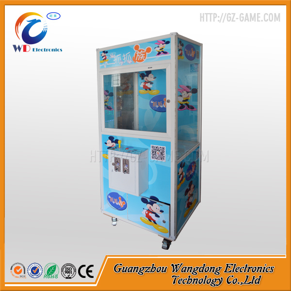 Beautiful Doll Coin Acceptor Toy Crane Machine