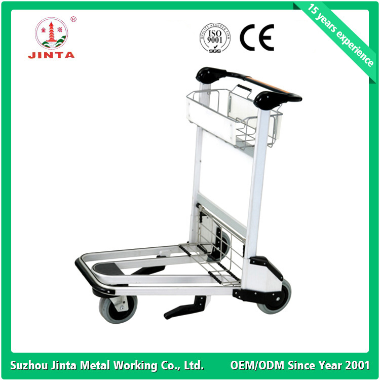 In Stock Aluminum Alloy Airport Trolley (JT-SA02)