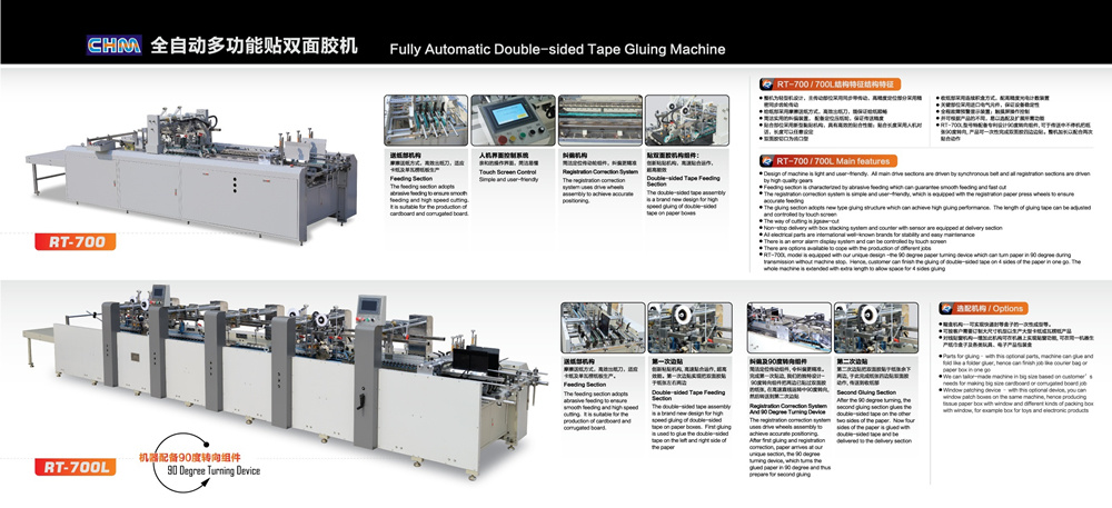 Fully Automatic Double-Sided Tape Gluing Machine