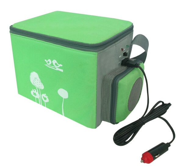 Electronic Cooler and Warmer 4L DC12V for Outdoor Activity Use