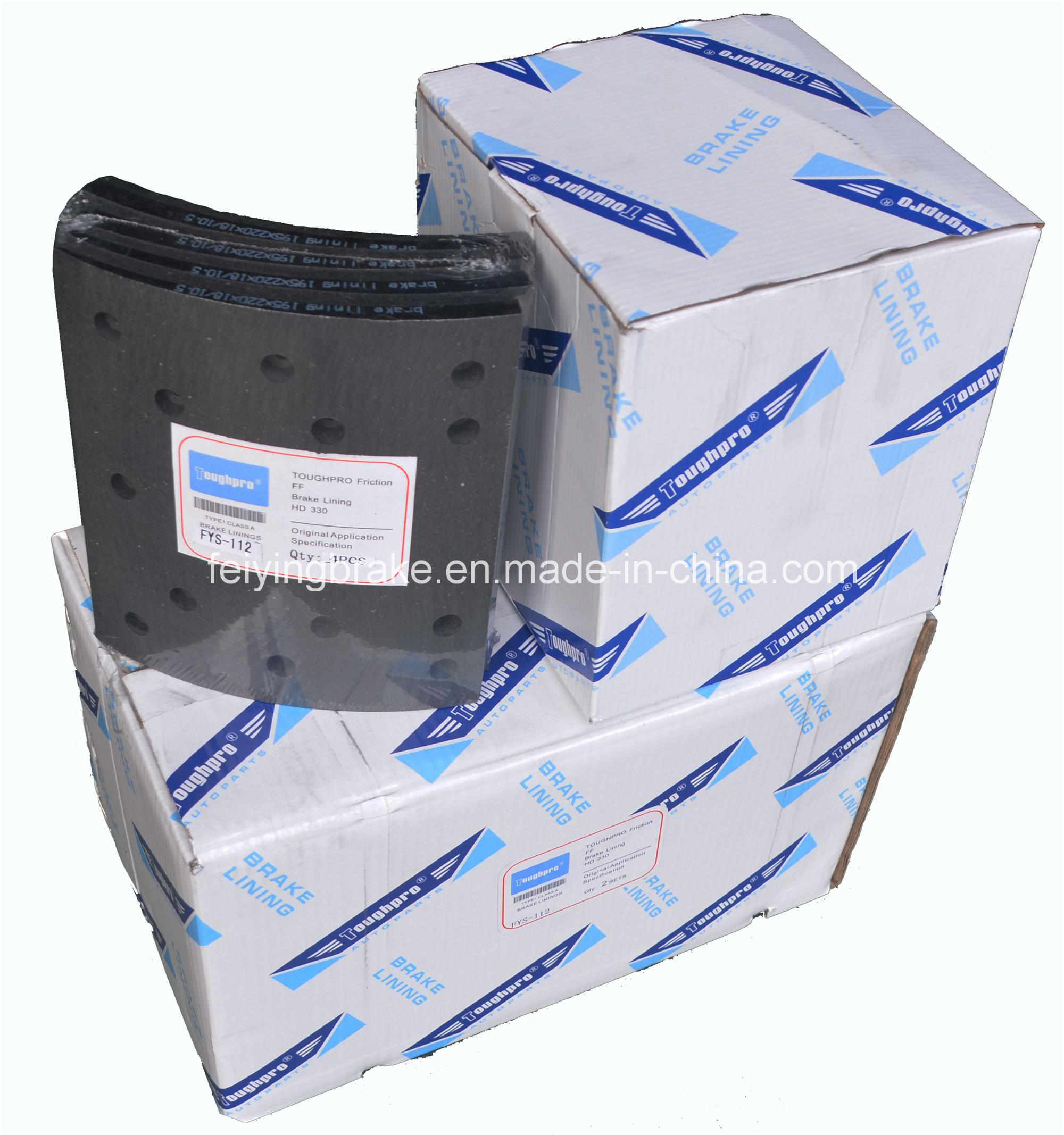 High Quality Brake Lining (WVA: 19496 BFMC: MP/36/2)