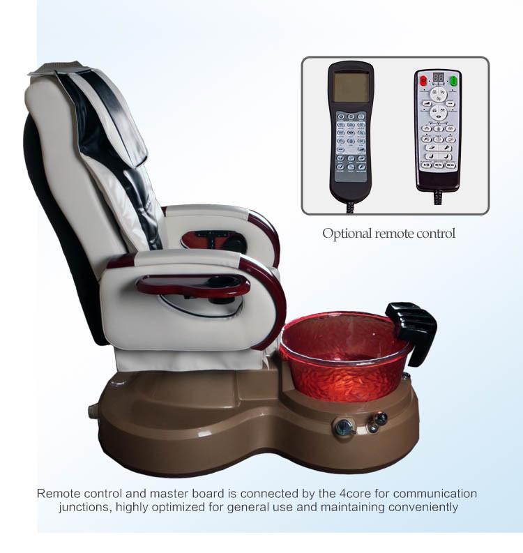 Salon Massage Chair Pedicure Machine with Vacuum