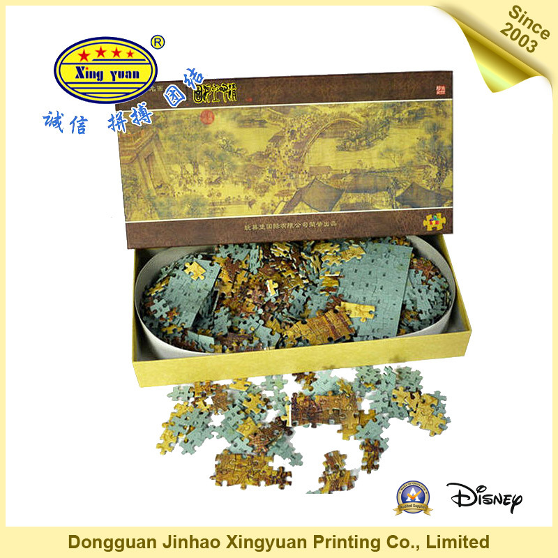 Customized Children Jigsaw Puzzle for Promotion and Education (JHXY-PZ01)