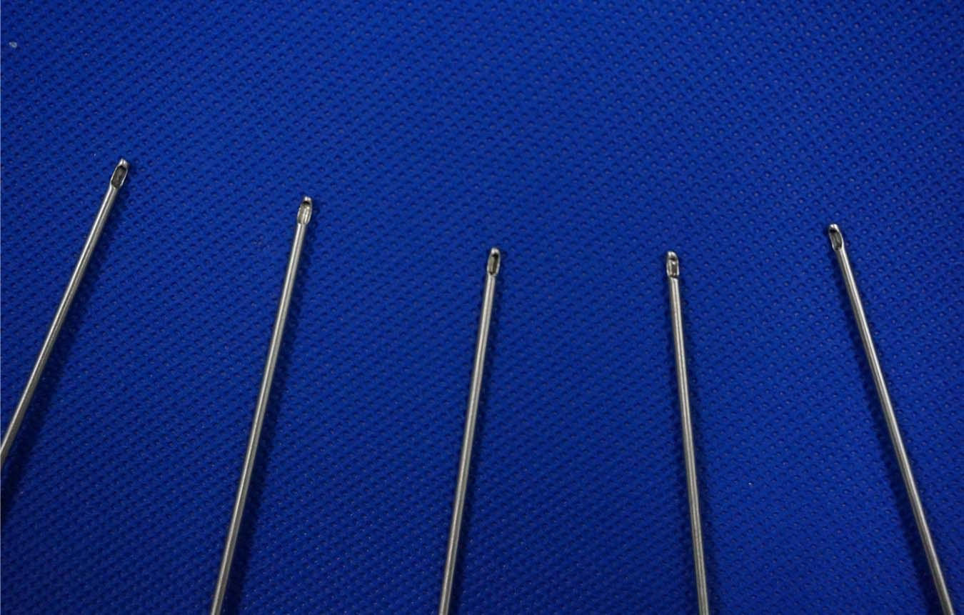 One Hole Type Re-Injection Cannula