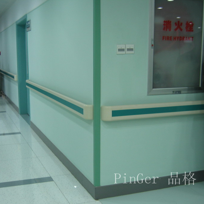 Free Sample Vinyl Wall Corner Guard for Hospital