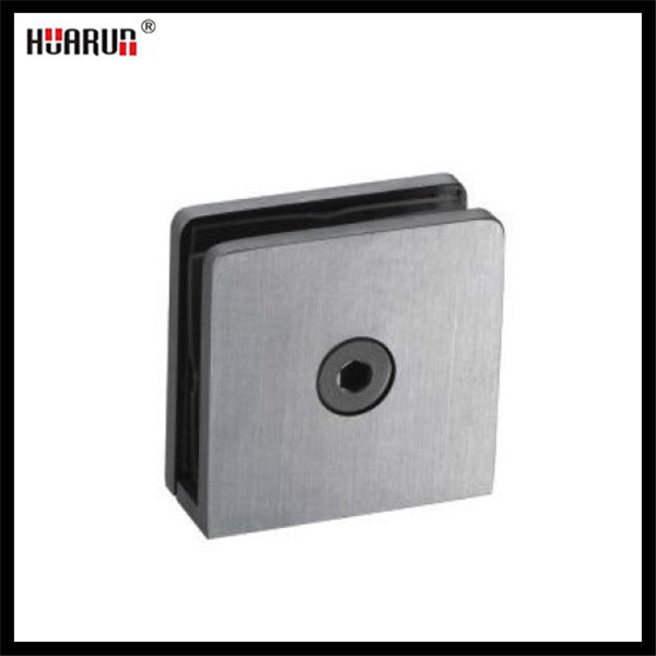Stainless Steel Square Shape Fixing Wall Glass Clamp (HR1500L-12)