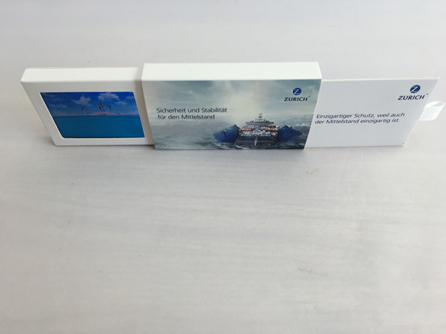 "Slide Digital LCD Video Business Card Mini 2.4"" TFT Screen Audio Invitation Video Business Card"