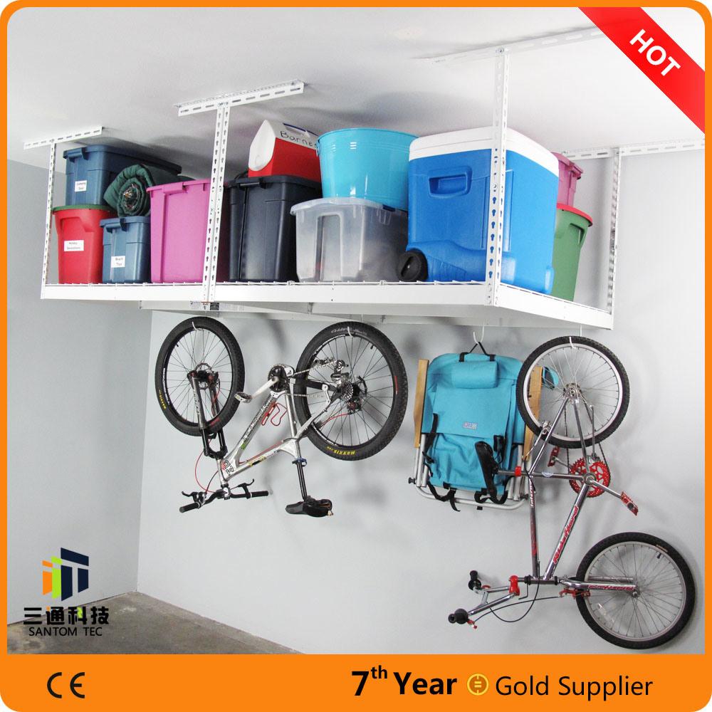 Garage Storage System, Overhead Ceiling Storage System