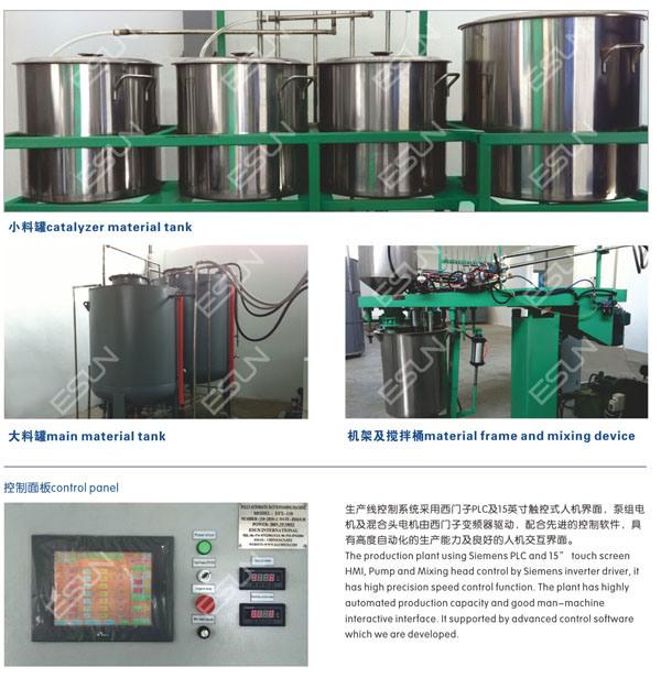 Full Automatic Batch Foaming Machine (EXF-110)