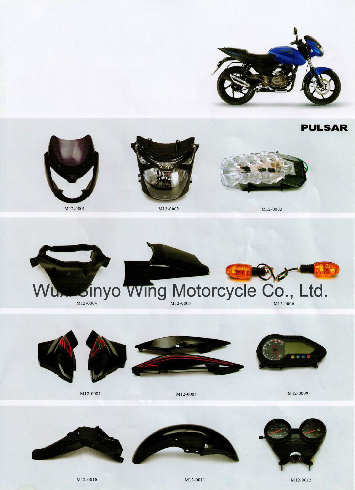 Popular Bajaj Motorcyle Spare Parts