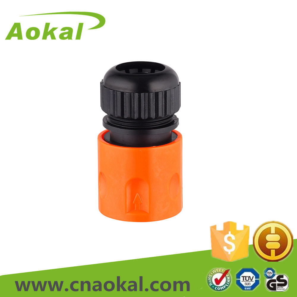 "Quick Plastic Hose Couplings Fitting 1/2"" Hose Connector"