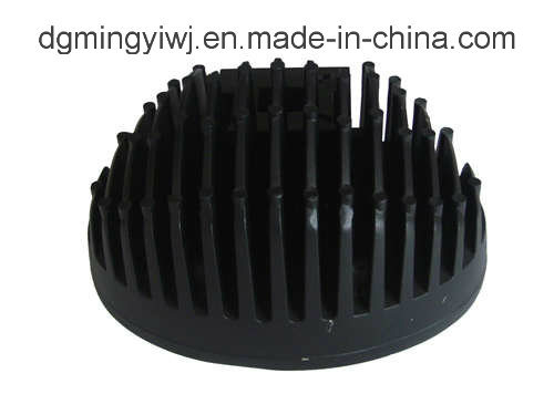 High Precise Magnesium Die Castings for Heatsink (MG008) with Powder Coated Made in Dongguan