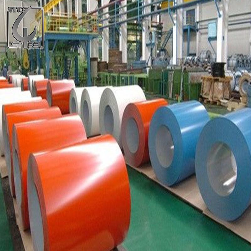 SPCC 0.45*1250mm Prepainted Galvanized Steel Coil