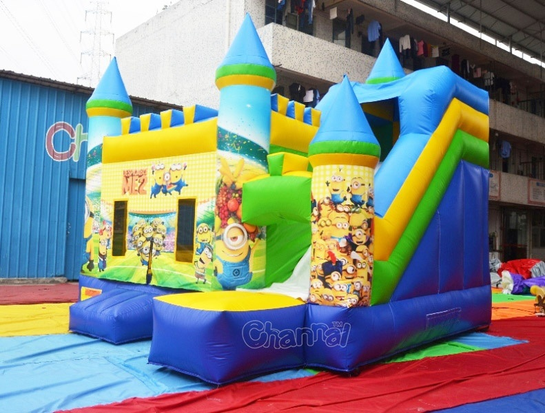 Minions Inflatable Bouncer Combo Chb590