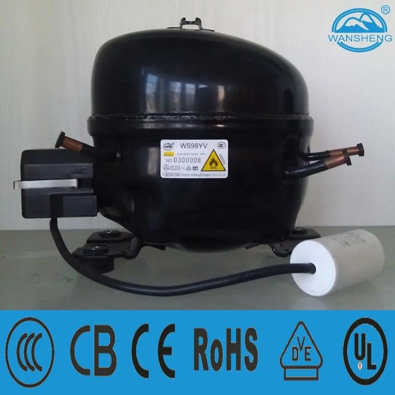 R600A Refrigeration Compressor Ws98yv for Refrigerator