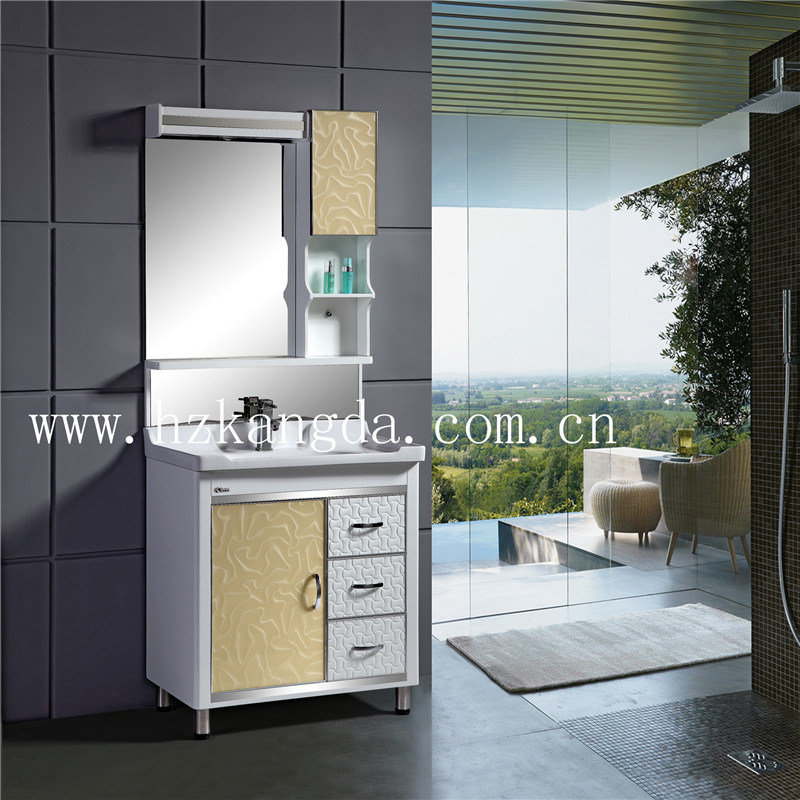 PVC Bathroom Cabinet/PVC Bathroom Vanity (KD-8010)