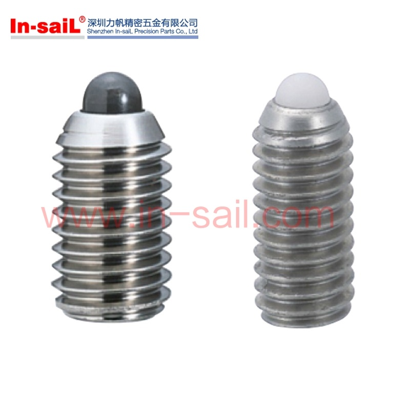 Wholesale Stainless Steel Grub Screw with Ball Bearing Insert Manufacturer