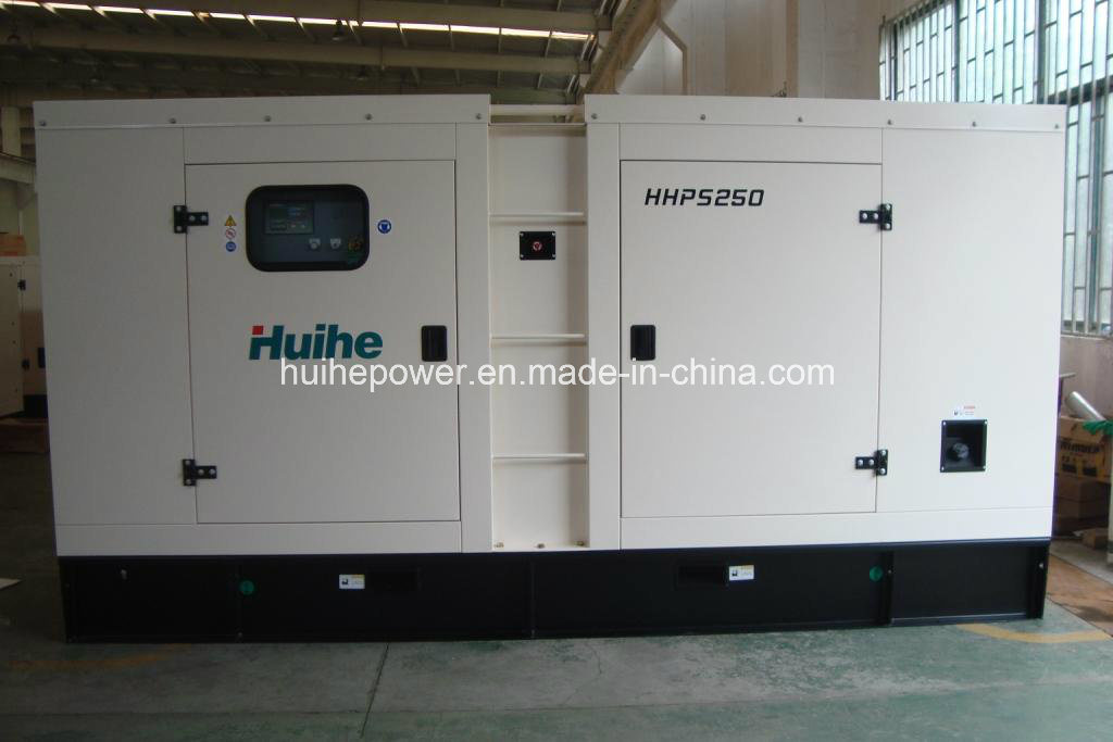 250kVA Diesel Generator with Canopy with Perkins Engine