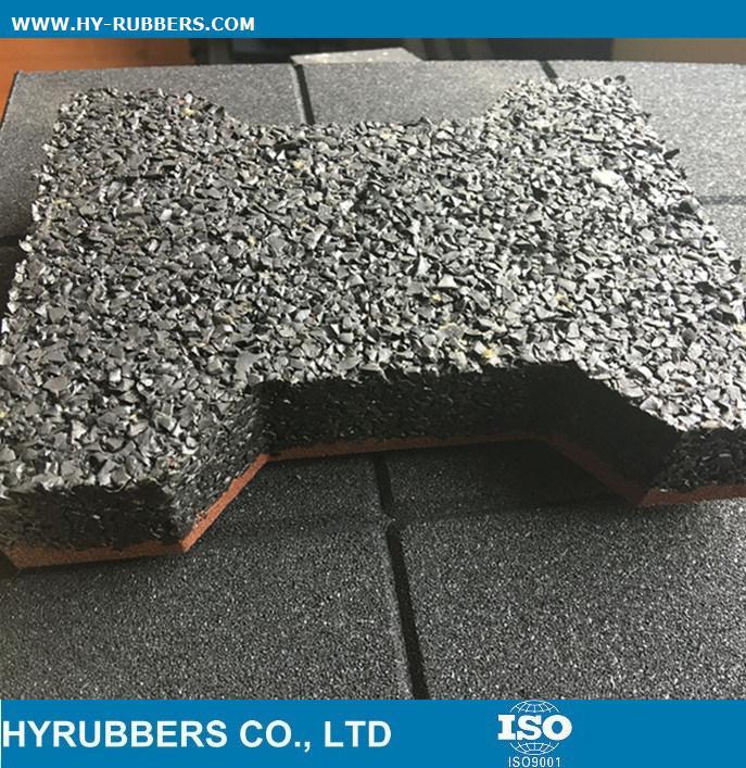 Rubber Floor for Park Interlock Tile