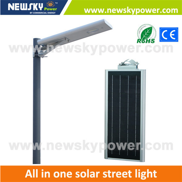 2017 New Products Integrated Solar LED Street Light