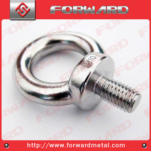 Stainless Steel Lifting Eye Bolt DIN580 Drop Forged Stainless Steel Eye Bolt