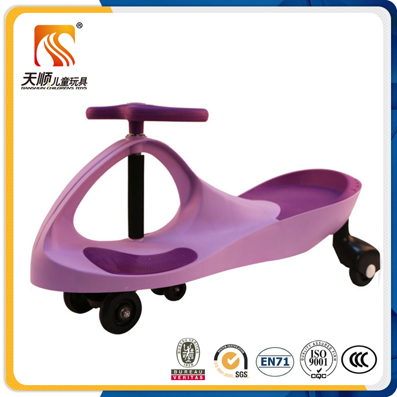 2016 Big Wheel Plastic Swing Car
