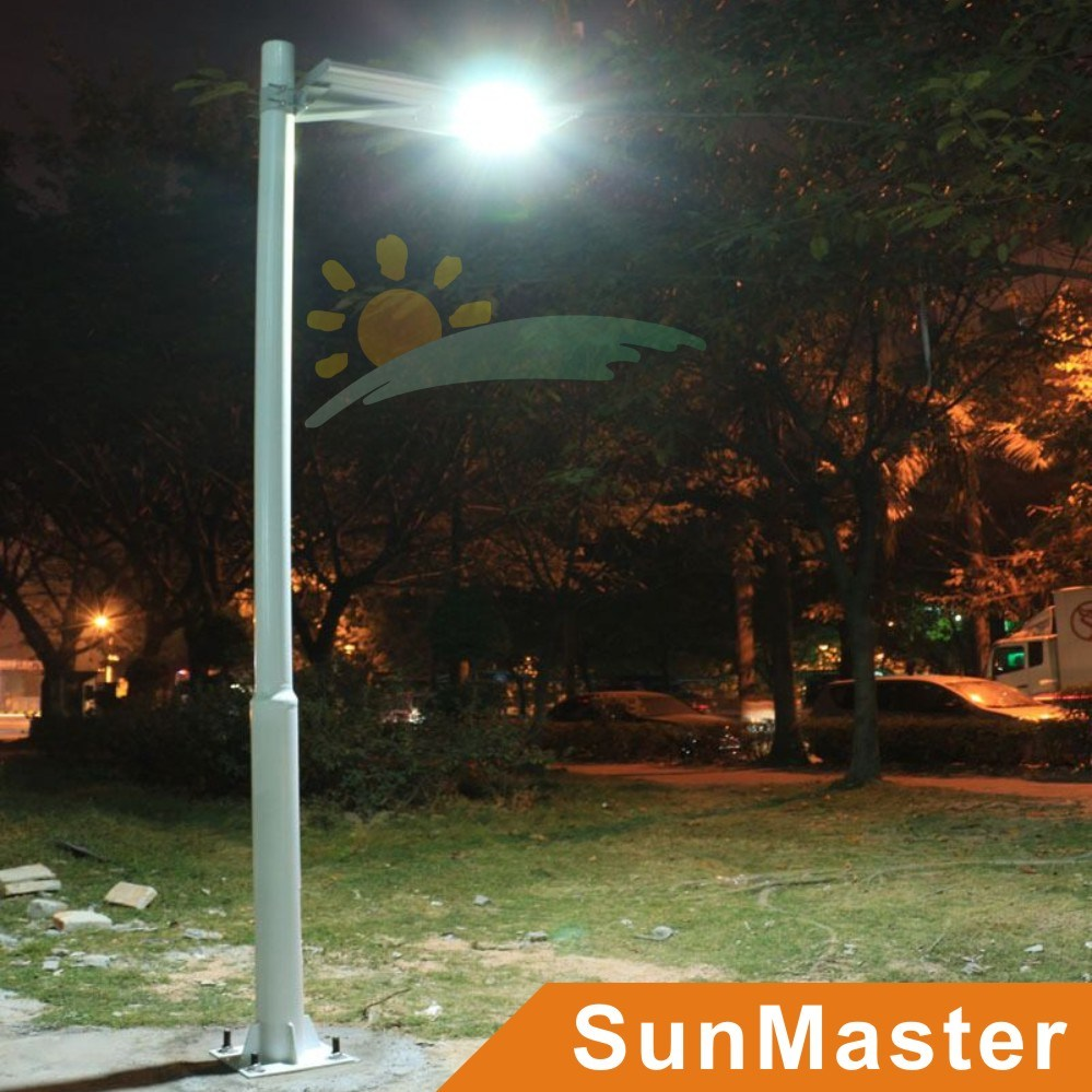 30W LED 60wsolar Panel Integrated Solar Street Light All-in-One Solar LED Street Lamp