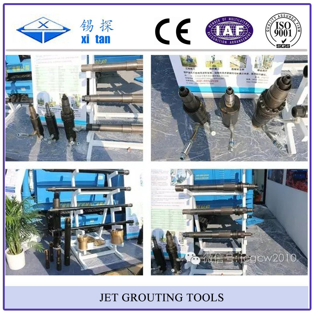 Jet Grouting Drilling Tools Jet Grouting Bit Jet Grouting Rod Single Double Triple Jet Grout