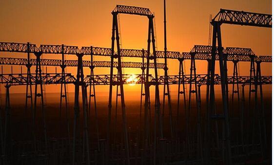 Transformer Substation Steel Structure Foundation