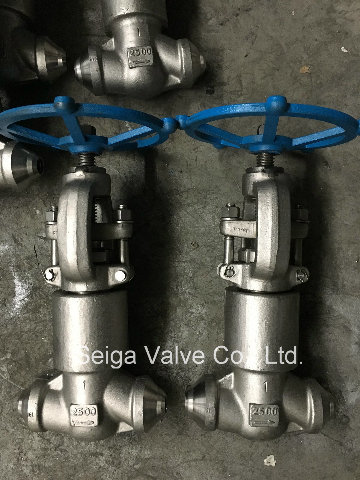 Forged Steel High Pressure Welding Stop Valve