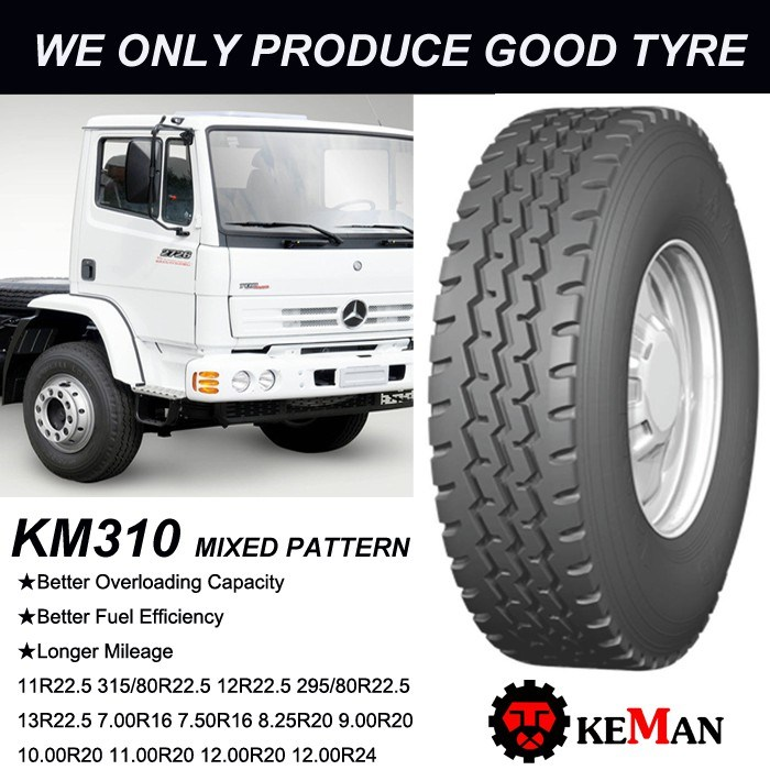 Km310 All Position Radial Truck Tyre, TBR Tyre