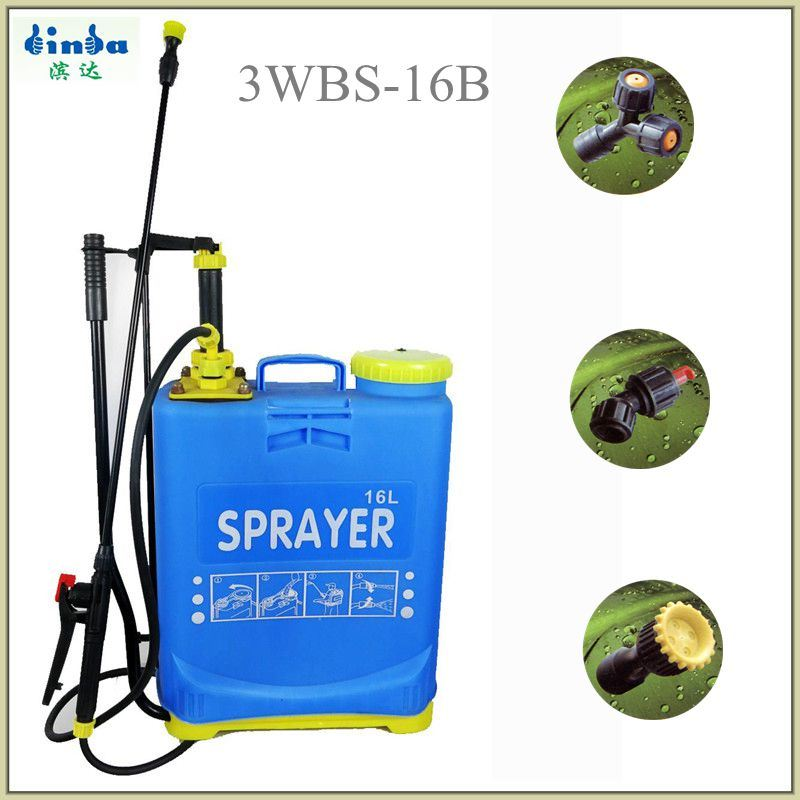 16L Pesticide Backpack Hand Sprayer with Dual Pump