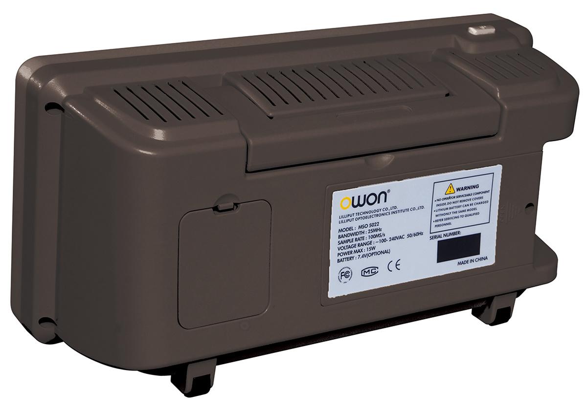 OWON 200MHz 2GS/s Mixed Logic Analyzer Oscilloscope (MSO8202T)