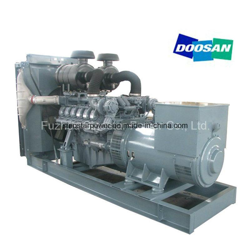 72kw to 520kw Doosan Diesel Electric Generator