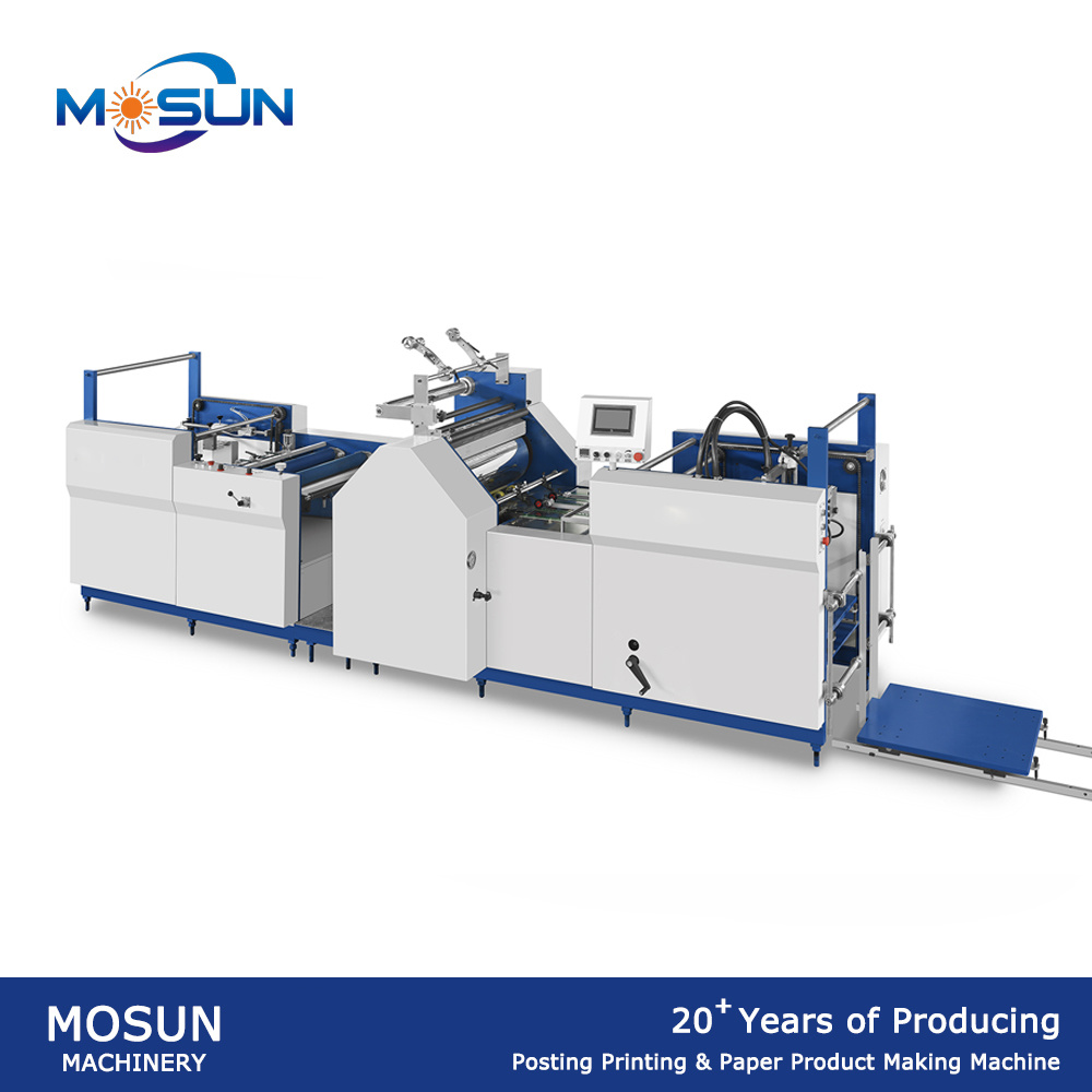 Msfy-520b Small Fully Automatic Paper Laminating Machine
