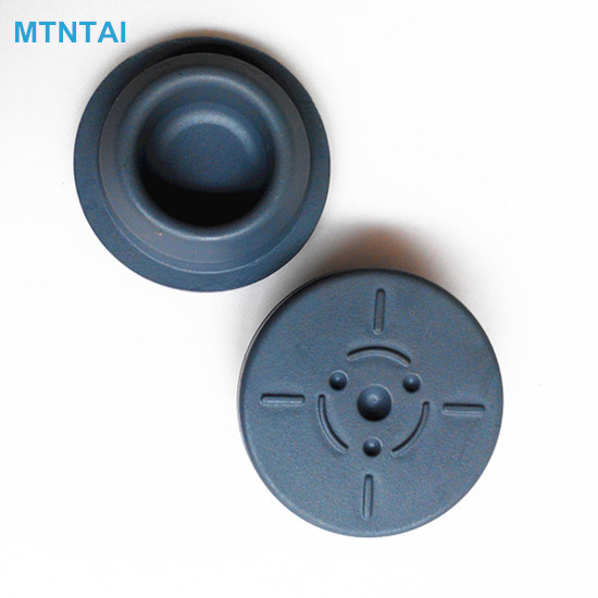 32mm Grey Color Rubber Stoppers for Infusion