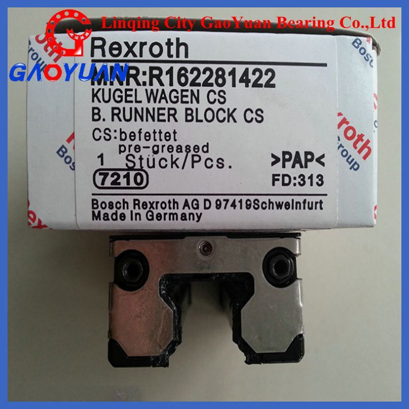 Original Pcaking! Linear Bearing R162381420 (Rexroth/THK/NSK)