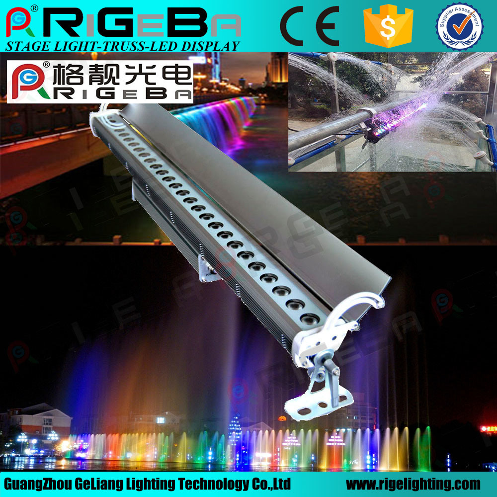 Factory Wholesales Waterproof LED 27LEDs3w RGB Outdoor Wall Washer