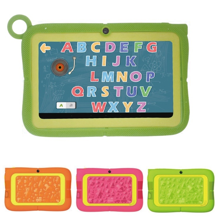 Latest Kids Tablet 7inch Quad Core 512MB+8GB Preinstalled Kids APP