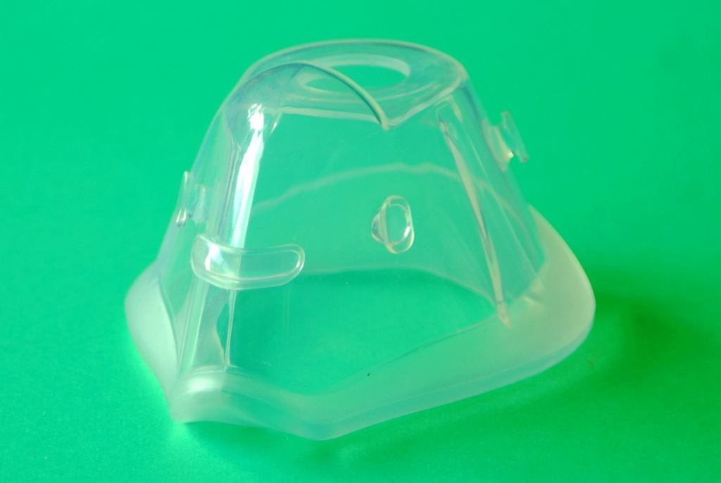 Custom Made Silicone Rubber Gas Face Mask