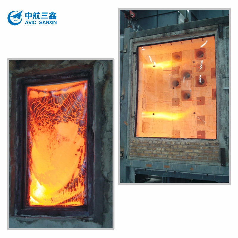 Fire-Resistant Glass with GB 15763.1 Mark, Sized 2, 440 X 3, 300mm