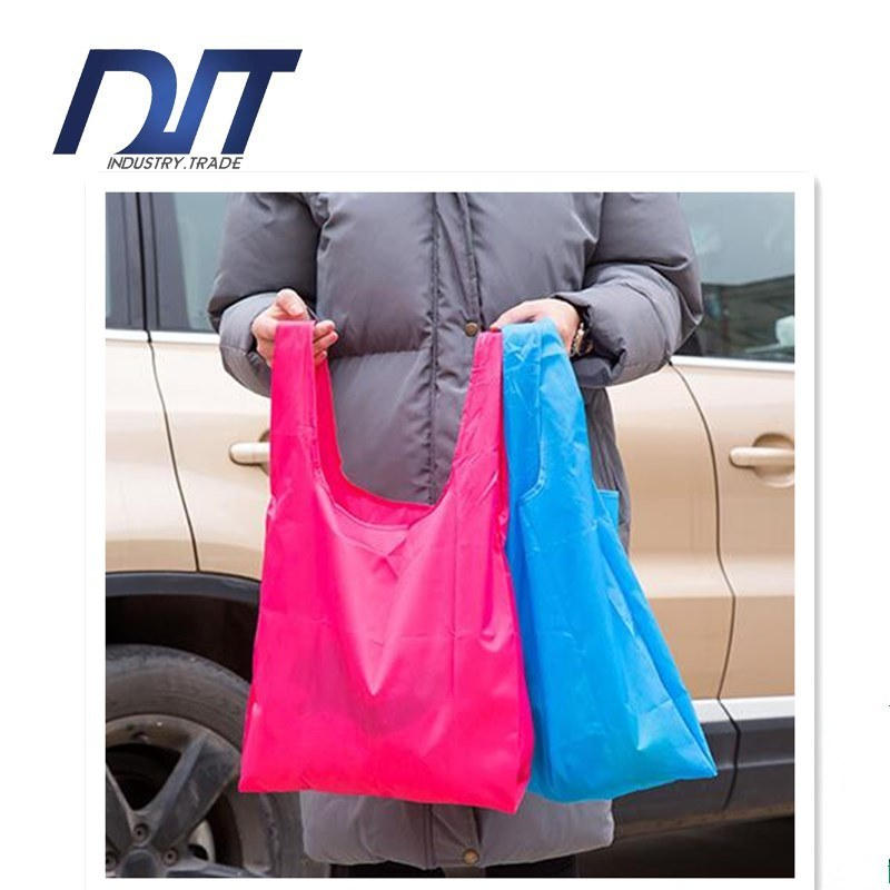 Folding Environment Protection Supermarket Shopping Bag Reticule