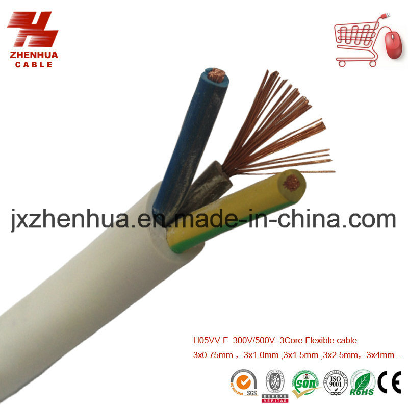 H05vv F Cable : China h vv f g mm power cable price photos