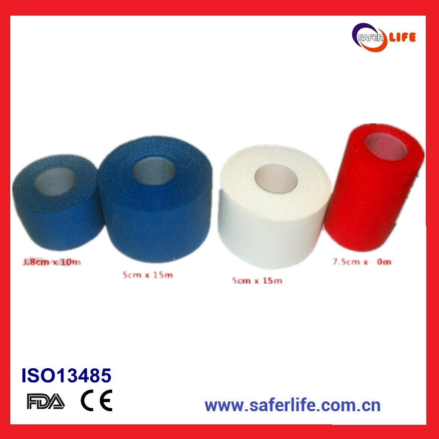 Hypoallergenic Elastic Cotton Adhesive Sports Kinesiology Tape